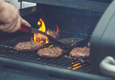 Burger patties made on gas grill - best gas grills